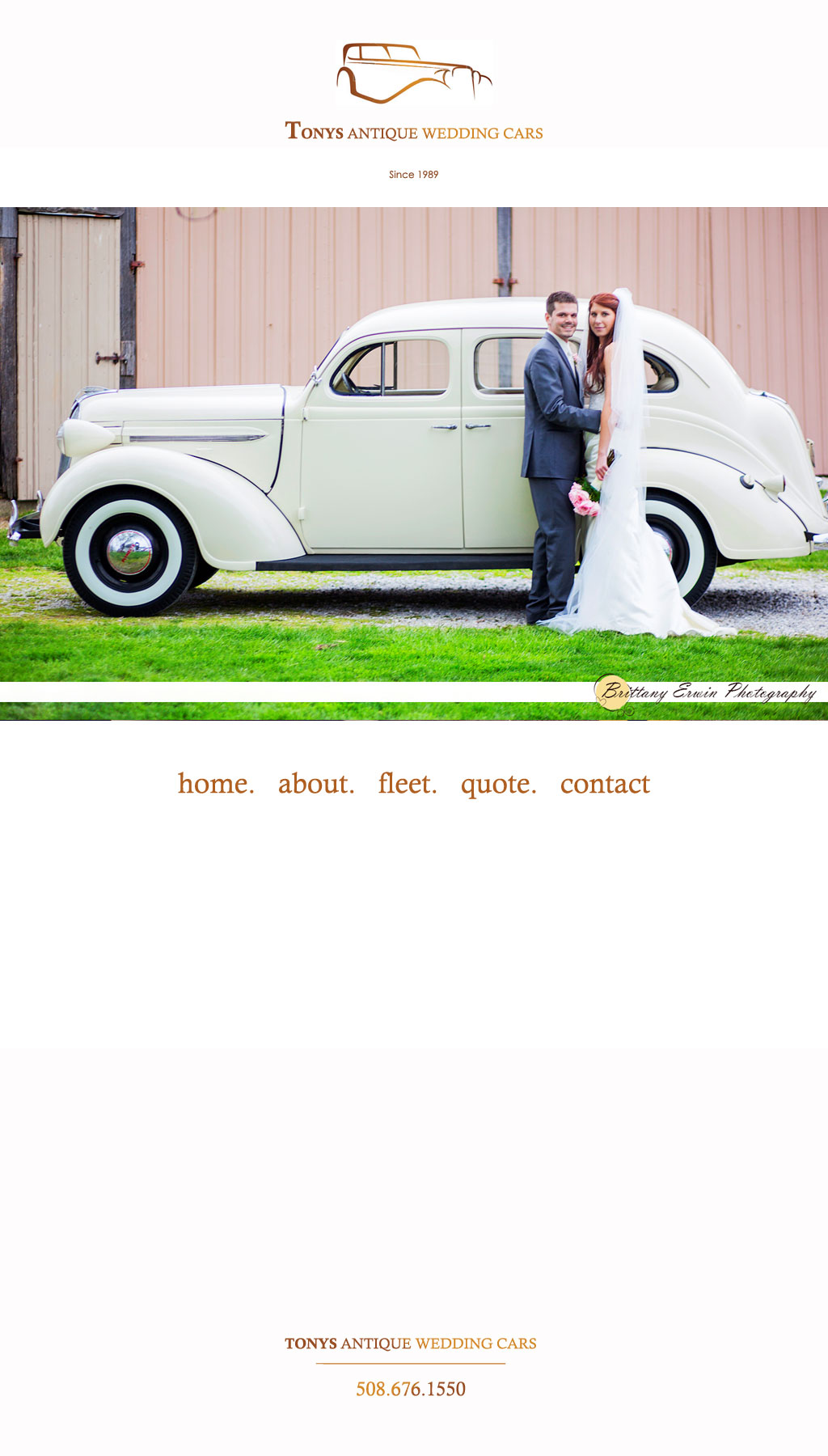 Antique Wedding Car